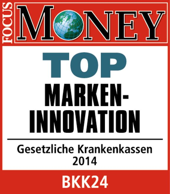 Fokus Money Siegel für Top Marken Inovation